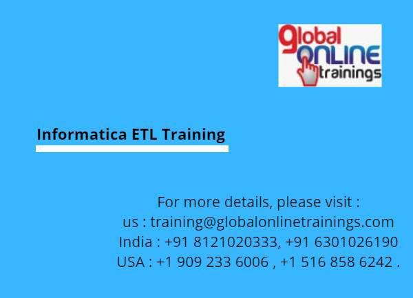 Etl training introduction - lessons & tutoring