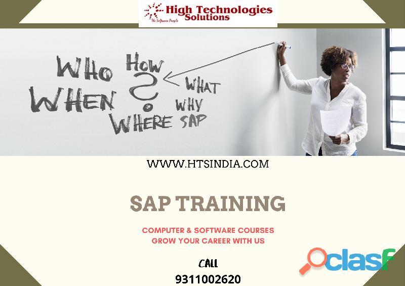 We are best sap training institute in noida