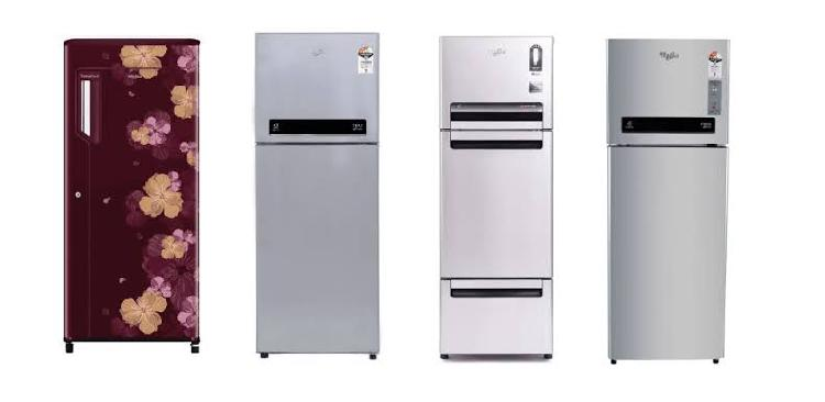 Whirlpool refrigerators price list in india updated today