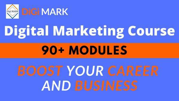 Digital marketing course (online & classroom training) -