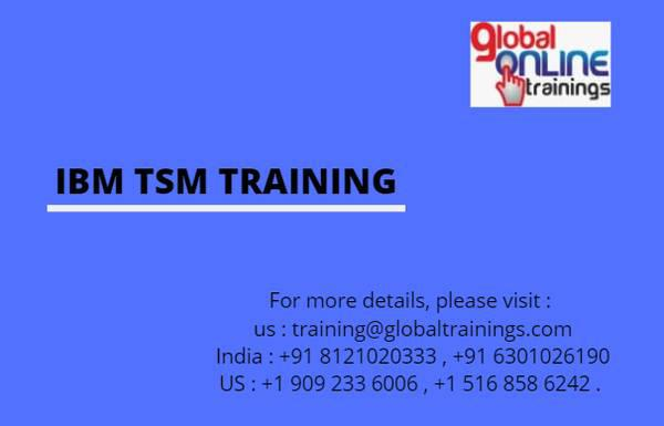 Ibm tsm training - lessons & tutoring