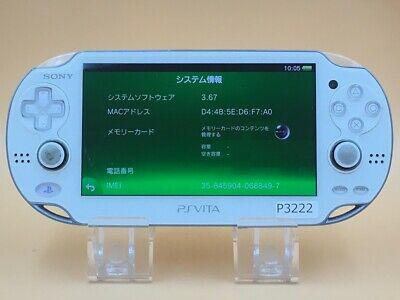 P3222 sony ps vita pch-1100 console crystal white