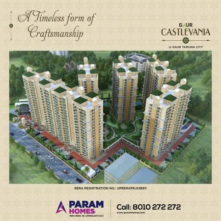 Gaur castlevania- 3bhk luxury apartments at 4th parkview -
