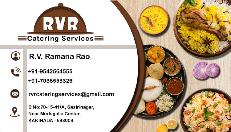 Rvr catering services for all your food requirements