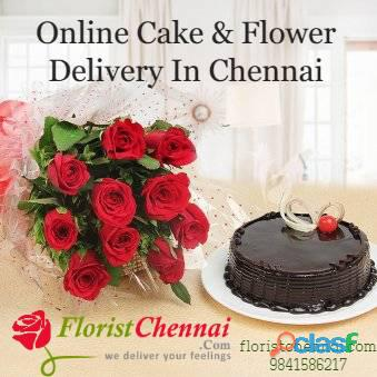Flower and cake delivery in chennai – floristchennai