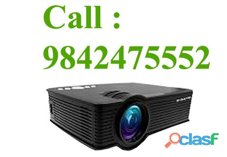 Projector rental trichy mobile :9842475552