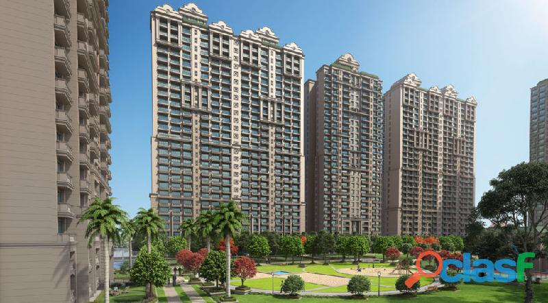 Ats rhapsody – 4bhk+sq flats at greater noida west