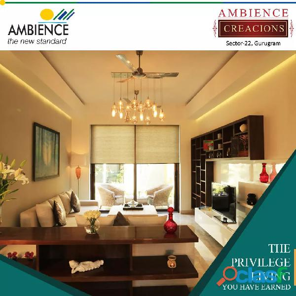 Creacions by ambience : luxury flats in sector 22