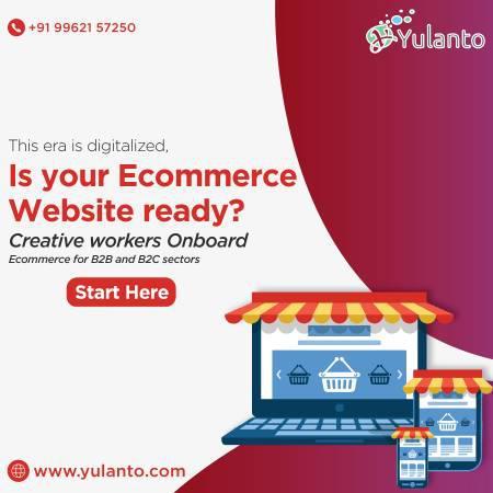 Custom ecommerce website development services company