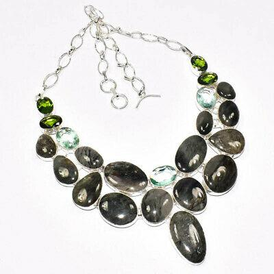 Labradorite & apatite & peridot gemstone 925 silver