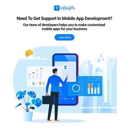 Mobile application development company - infinijith -