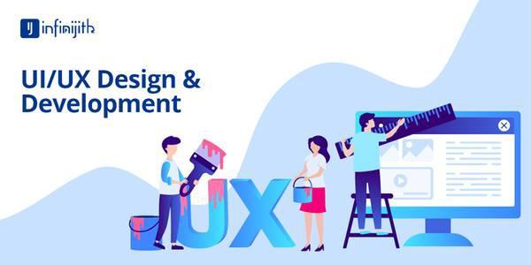 Ui/ux design services company - infinijith - computer