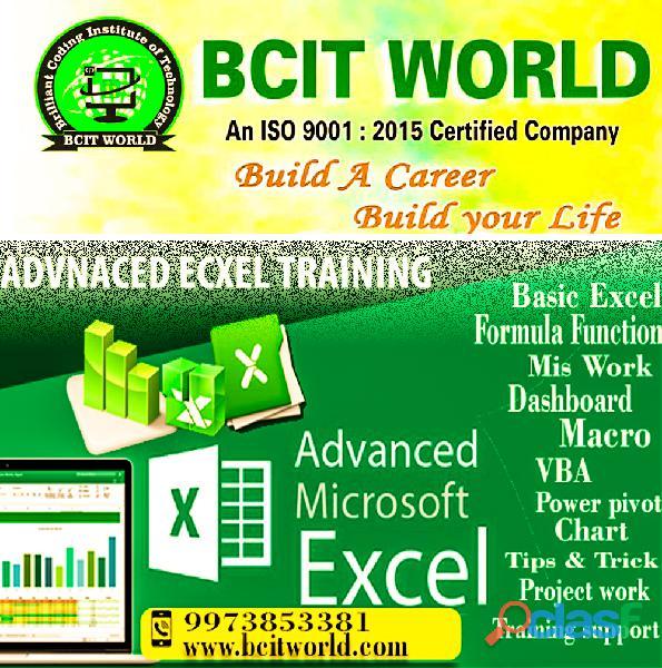 Adv.excel training institute in patna