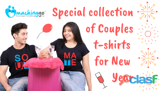 Couple clothes | the most incredible gift option for new year