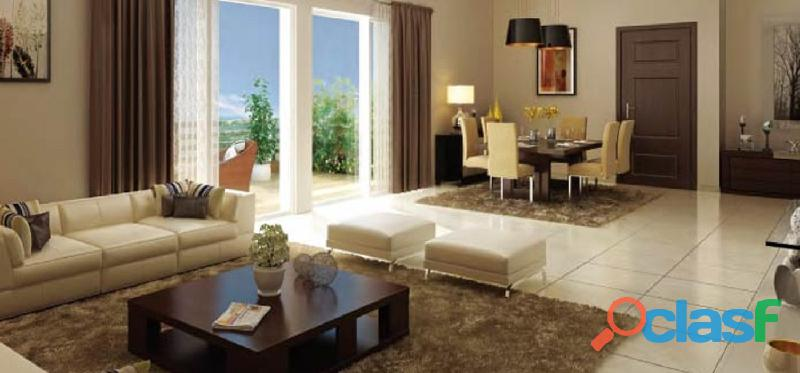 M3m woodshire offers 2 bhk, 2.5 bhk, 3 bhk and 4 bhk apartments
