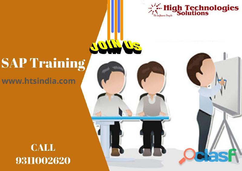Real time SAP Training institute in Noida
