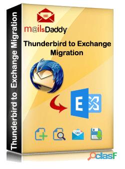 Thunderbird to live exchange migration