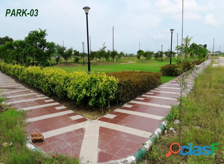 Eldeco shaurya – residential plot near crpf camp bijnor road
