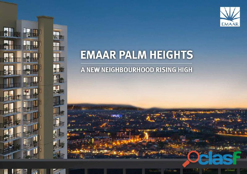 Emaar Palm Heights – Luxury 3BHK Apartments bang on NH8. 1