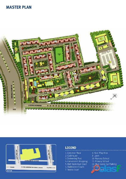 Emaar Palm Heights – Luxury 3BHK Apartments bang on NH8. 5