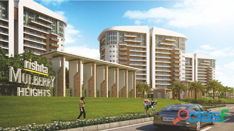 Rishita mulberry heights : luxurious 2 ,3 & 4 bhk apartments