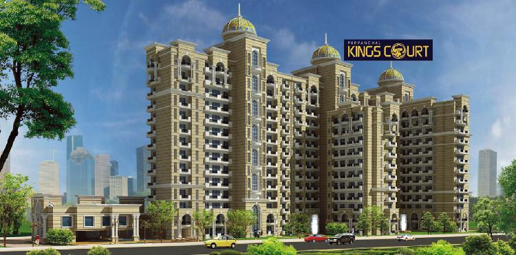 Ultra luxury 3bhk at purvanchal kings courts lucknow