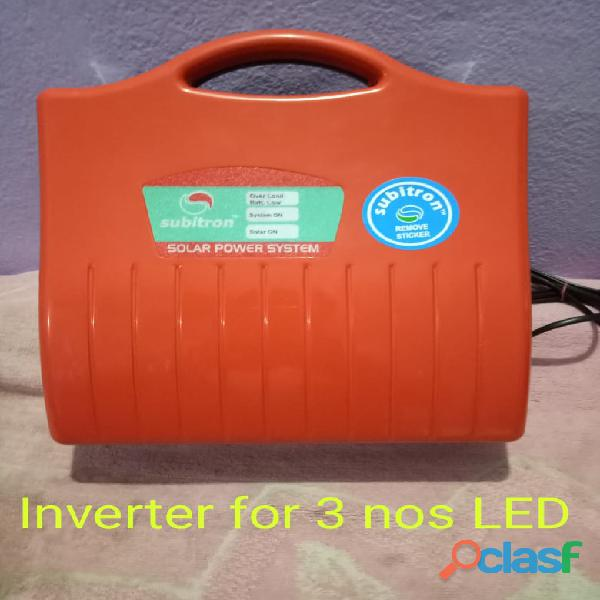 Led/cfl 50watt inverter available low cost