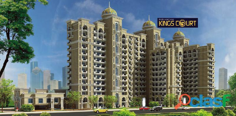 Ultra luxury 3 & 4bhk at purvanchal kings courts lucknow