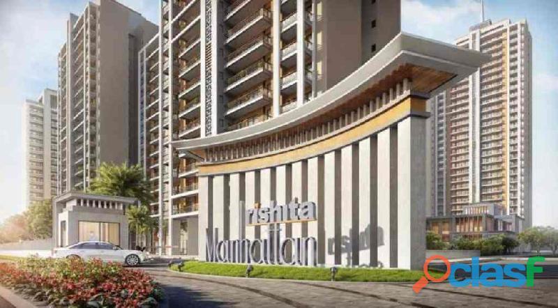 Rishita manhattan – 4bhk+sq flats near dial 100
