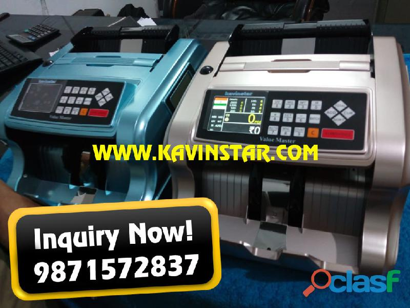 CASH COUNTING MACHINE WITH FAKE NOTE DETECTOR KAVINSTAR.IN 1