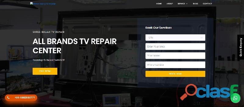 Led tv repair service in noida
