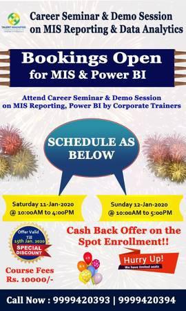 Mis & data analyst training - lessons & tutoring