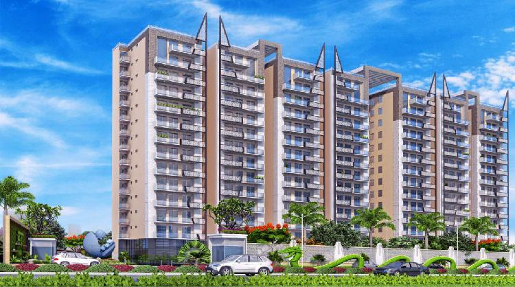 Azea botanica luxury 3bhk 4bhk flats at vrindavan yojna