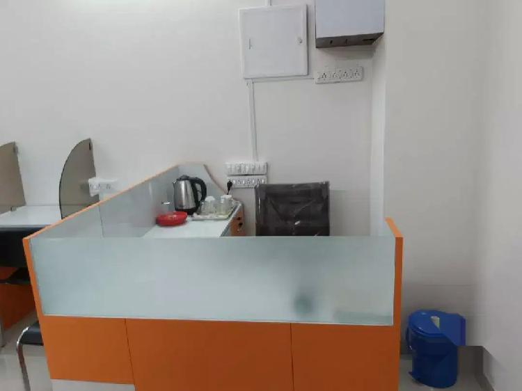 Fully furnished office for rent in new town area