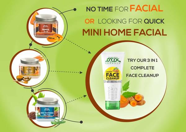 No time for facial or looking for quick mini home facial -