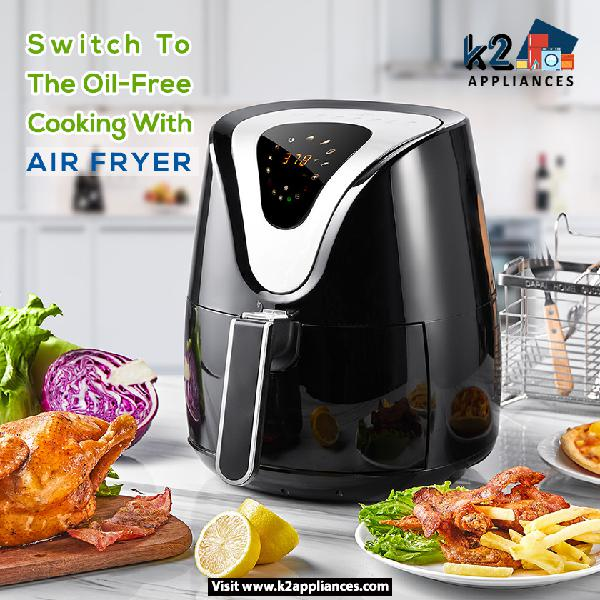 Buy Top 10 Best Air Fryer in India From K2 Appliances