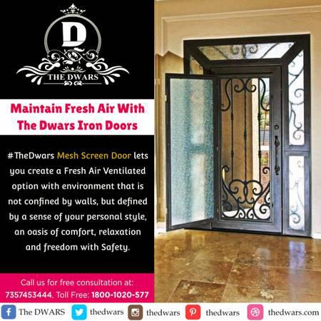 Maintain fresh air with the dwars iron doors - antiques - by