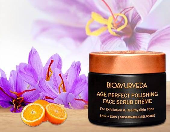 Skin polishing facial scrub: best whitening organic facial