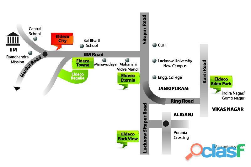 Eldeco City Dreams – Affordable Apartments on IIM Road , Lucknow 1