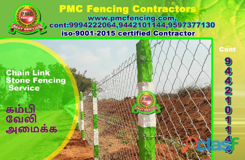 fencing contractors in Kanyakumari | PMC fencing