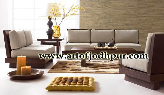 wooden sofa sets 6 seater