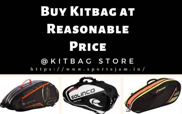 Buy Kit bag Online at Reasonable Price - sporting goods - by