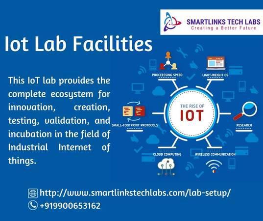 Iot Lab Facilities | Smartlinks Tech Labs - writing /