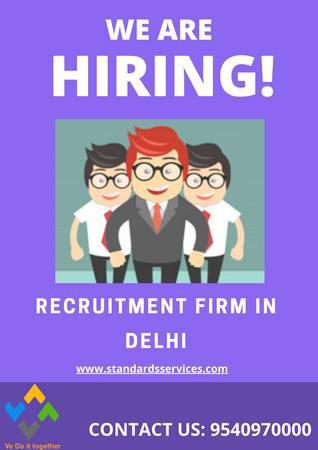 Recruitment firm in delhi - customer service