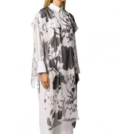 SALVATORE FERRAGAMO Black Silk Short Dress - clothing &