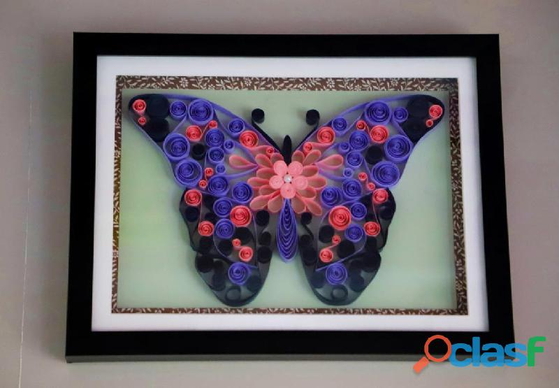 Wedding gifts for home decor abstract butterfly art work aadhi creation