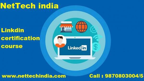 Enroll at NetTech India for Linkdin marketing course -