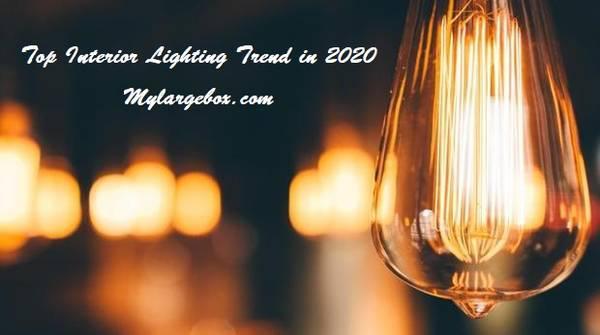 5 top trends in interior light design for 2020 - household