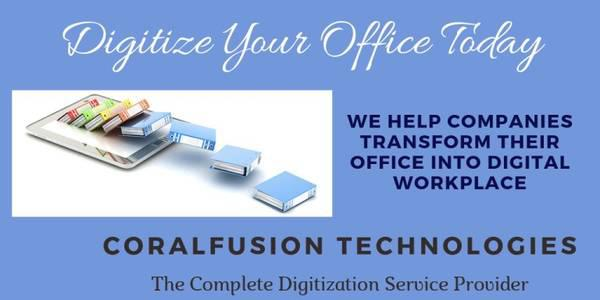Document Scanning and Digitization services in Chennai -