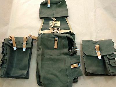 German wwii engineer assault pack - backpack with side